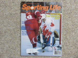 Sporting Life Magazine - October 1984 - Canada Cup Cover