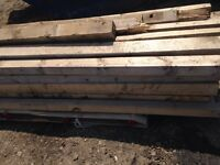 40 x timber 3x3 and 4x4. 3 to 4 meters long. Delivery.