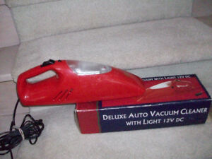 Deluxe Auto Vacuum Cleaner with Light