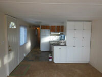 2 bed completely renovated trailer - great views