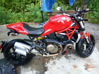 2014 Ducati Monster 1200 Like New Condition