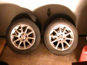 Tire MAGS Continental With Alloy Rims
