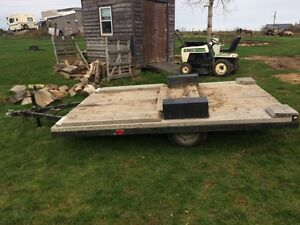 Flatbed Utility Trailer Great Deal