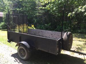 Utility trailer 4ft x 8ft inside for sale