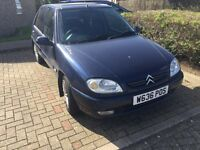Citreon Saxo 1.1 petrol+ONLY 42,000 mileage