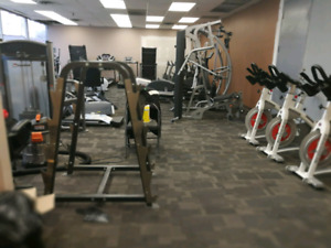 Used exercise equipment...