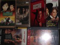 FILMS VHS, JEUX XBOX, BOITERS ET TOUR DE CD