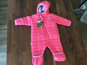 Brand new with tags North Face snow suit