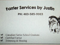 Farrier Service By Justin