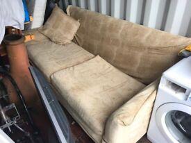 Large designer sofa