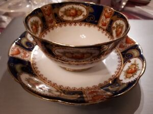 Bell China - Shore Coggins Longton - teacup and saucer