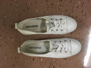 Converse All Star Chuck Taylor Ballet Slip On White 6.5