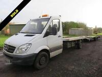 2013 62 MERCEDES-BENZ SPRINTER 2.1 316 CDI LWB TRANSPORTER WITH BRIAN JAMES PDQ