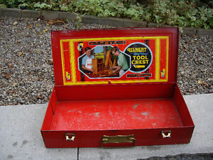 VINTAGE RED TOOL CHEST