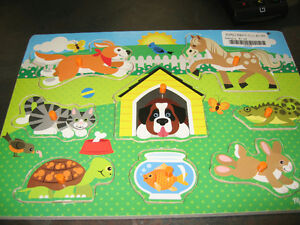 Assortment of toddler friendly puzzle's London Ontario image 3
