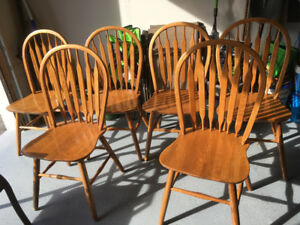 Chairs. Set of 6