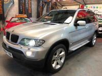 BMW X5 3.0 SPORT 24V Silver Auto Petrol, 2004 (04)