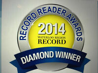 Voted Best DJ Service in K-W and travel to Niagara & GTA