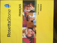 Rosetta Stone - French Levels 1, 2, 3, 4, & 5