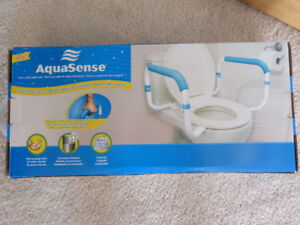AQUASENSE TOILET SAFETY RAILS
