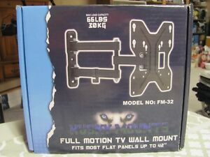 "Full Motion TV Wall Mount bracket for 32"" to 42"""