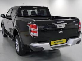 2015 Mitsubishi L200 Double Cab DI-D 178 Barbarian 4WD Auto Diesel black Automat