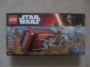 Lego Star Wars Rey's Speeder (Brand New In Box)