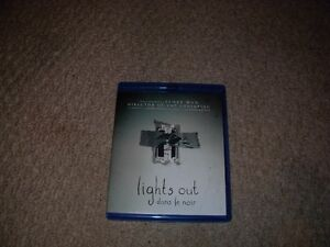 LIGHTS OUT BLURAY AND DVD COMBO SET FOR SALE!