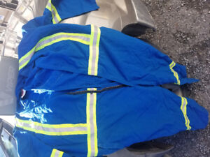 Coveralls new.. fire safe