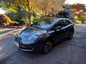 2013 Nissan Leaf SL Premium w/Quick Charge
