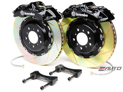 Brembo Rear GT Brake BBK 6piston Black 380x32 Slot Ferrari 360 00-04 F430 05-09
