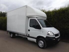 2009 Vauxhall Movano 3500 2.5 LUTON VAN WITH TAIL LIFT