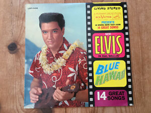 DISQUE ELVIS BLUE HAWAII
