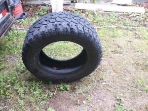 """Set of 4, 20"""" tires in good shape."""