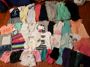 Girl 4T-5T summer cloths lot