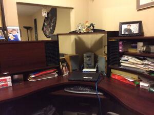 bureau de travail sectionnel