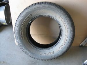 Two 255/75R17 Cooper Discoverer A/T3 Tires 75%