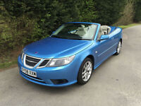 58 REG - SAAB 9-3 VECTOR 1.8t SPORTS CONVERTBILE 5 SPEED MANUAL - LOW MILES