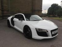 AUDI R8 4.2 QUATTRO WHITE **HPI CLEAR **MOT 21/06/19 **P/PLATE INCLUDED **PX WEL