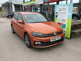 image for 2018 Volkswagen Polo 1.0 TSI 95 R-Line 5dr HATCHBACK Petrol Manual