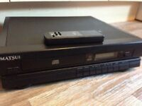 Matsui CD Player - Seperate - With Remote
