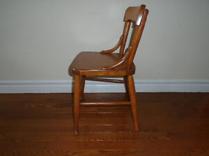Vintage child's chair.