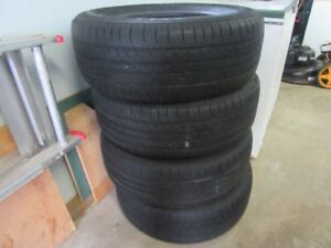 4 -  Aeolus Cross Ace tires   size - 17 in.