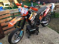 Ktm 250 sxf road registered 2009 mint condition