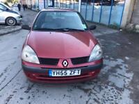 Renault Clio 1.2 16v Expression 5 DOOR - 2005 55-REG - FULL 12 MONTHS MOT