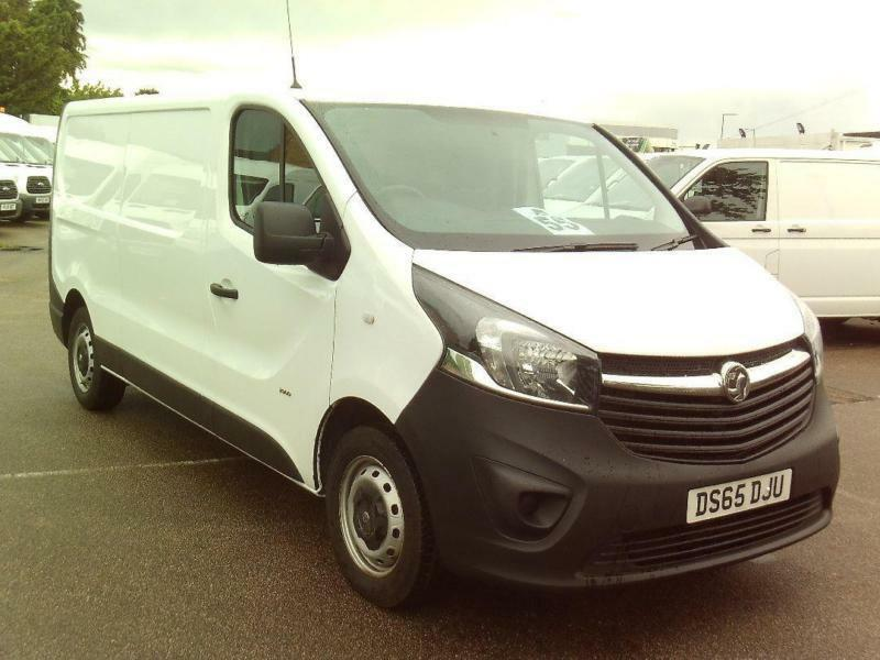 Vauxhall Vivaro 2900 2.0 CDTI 115PS L2 DIESEL MANUAL WHITE (2015)
