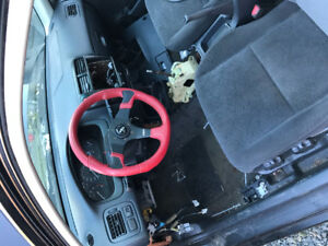 Race steering wheel for civic