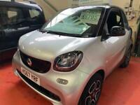2017 smart fortwo 0.9T Prime (Premium) Twinamic (s/s) 2dr Coupe Petrol Automatic