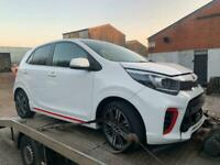 2017 67' KIA PICANTO 1.0 GT LINE 5dr * Salvage Damaged * ONLY 4K MILES *