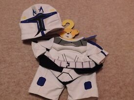 Build a bear- Storm trooper outfit